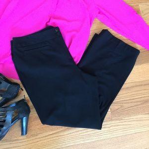 Style & Co Black Stretch Dresspants Straightleg